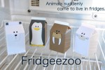 Fridgeezoo Animals Let You Know When You're Wasting Energy