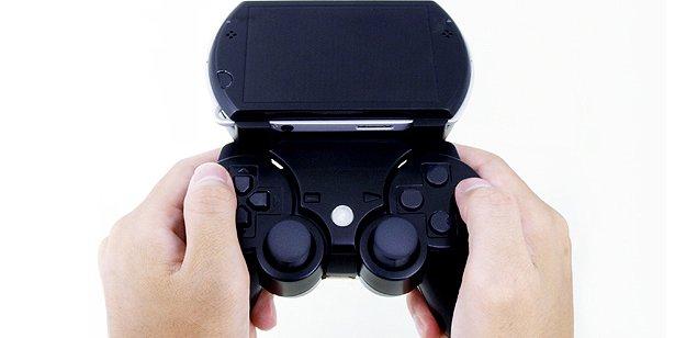 Gametech Bear Unveils Accessory to Add Dual Joysticks to the PSP Go