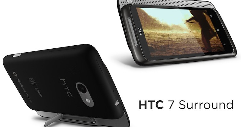 AT&T HTC 7 Surround drops Nov 7 with Windows Phone 7