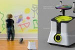 KLEXL Smart Projector Lets Kids Draw on Walls Without the Mess