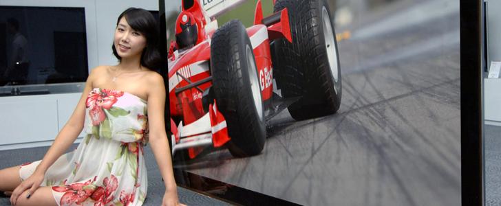 72LEX9 LG's Largest Commercial 3D LCD TV