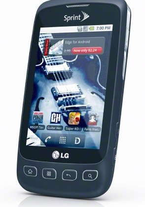 LG Optimus S for Sprint Unveiled, Brings Android 2.2 with a Cheap Price Tag