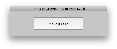 Geohot's Limera1n Jailbreaking Utility Now Available for Mac