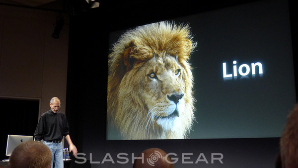 OS X 10.7 Lion Official: Mac Meets the iPad
