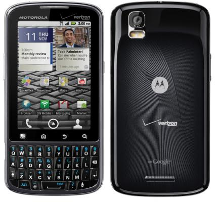 Motorola Droid Pro for Verizon Announced, Due in the Coming Weeks