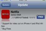 Netflix Update Adds Video Out Support for iPhone 4, iPod 4th Gen