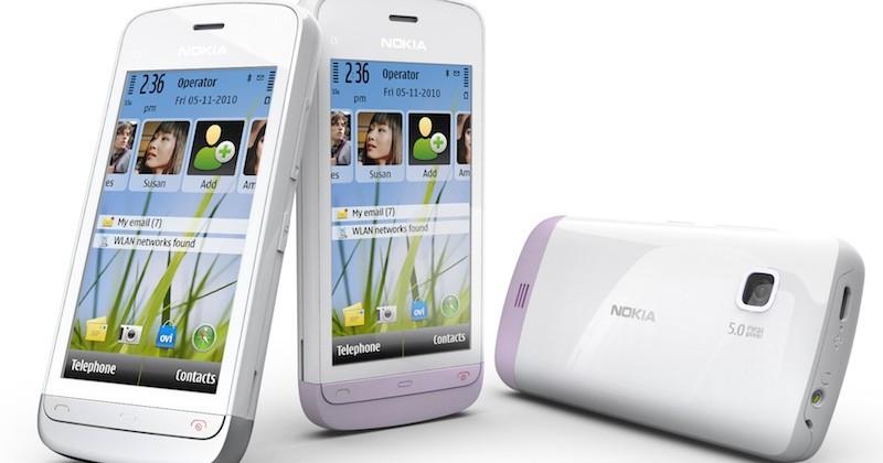 Nokia C5-03 Symbian^1 budget touchscreen phone debuts