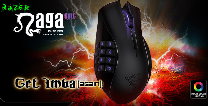 Razer Naga Epic Gaming Mouse Available for Pre-Order