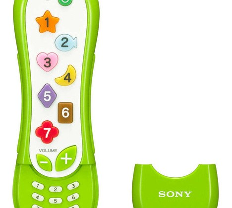 Sony RM-KZ1 Remote Control is Designed for Kids, Looks the Part