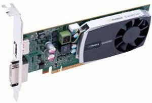 NVIDIA Quadro 2000 and Quadro 600 Fermi pro-video cards