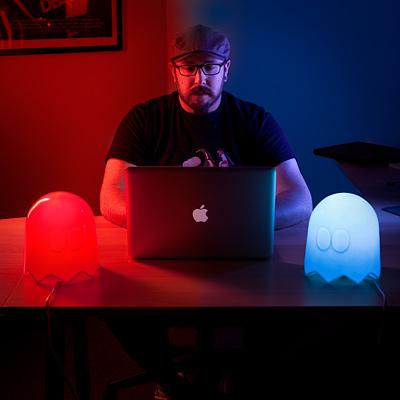 ThinkGeek Ghost Lamps Keep Your Home Safe from the Wokka-Wokka of Doom