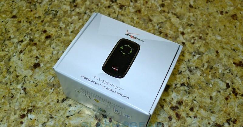 Verizon FIVESPOT hands-on