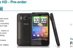 HTC Desire HD hits Vodafone preorder; SIM-free delayed until late-October