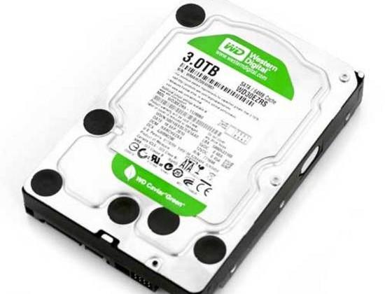 Western Digital's Caviar Green 3TB Hard Drive is World's Largest Capacity SATA Drive