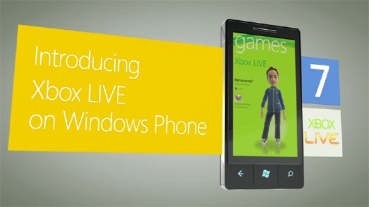 Windows Phone 7's Best Feature is Xbox LIVE Integration, Microsoft Exec Says
