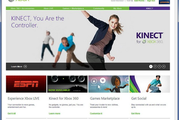Xbox.com Undergoing Massive Facelift, Adding More Integration to Xbox 360 and Windows Phone 7