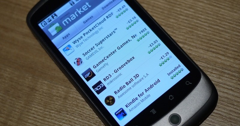 Android Market now shows apps in local currency