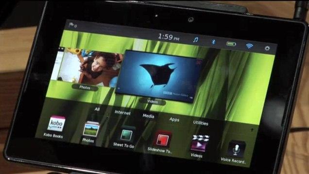 BlackBerry PlayBook gets Adobe AIR video demo
