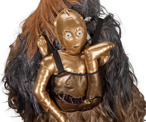 ThinkGeek debuts C-3PO Bespin Backpack and it's awesome