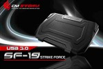 CM Storm outs SF-19 Strike Force gaming notebook cooler