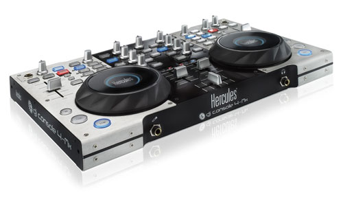 Hercules DJ Console 4-Mx for Pro DJs launches