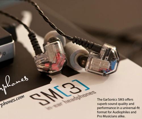 EarSonics SM3 earphones land in the US