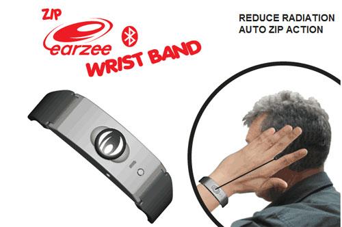 Zip Earzee Wrist Band looks really weird