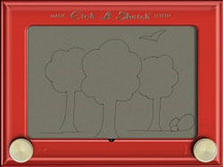 Official Etch a Sketch app for iPad lands