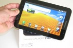 Samsung Galaxy Tab gets video unboxing