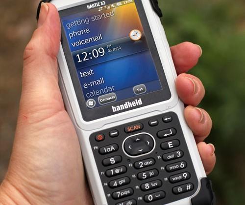 Handheld Nautiz X3 rugged PDA debuts