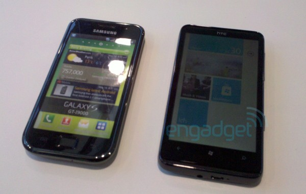 HTC Mozart and HD7 smartphones surface