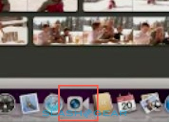 iChat icon tips Face Time integration incoming?