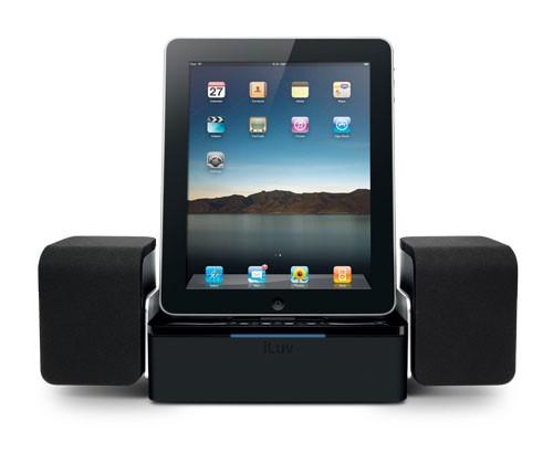 iLuv drops wide iMM747 iPad speaker dock