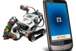 Android LEGO MINDroid app: make your phone a robot remote