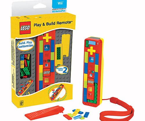 Build your own Wii remote with Lego Play and Build