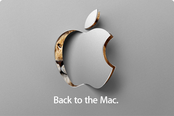 "Apple to hold a ""Lion"" of an event Oct 20th"