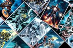 Marvel Comics Celebrate TRON Legacy