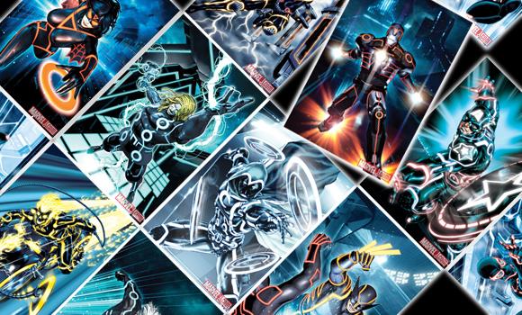 Marvel Comics Celebrate TRON Legacy
