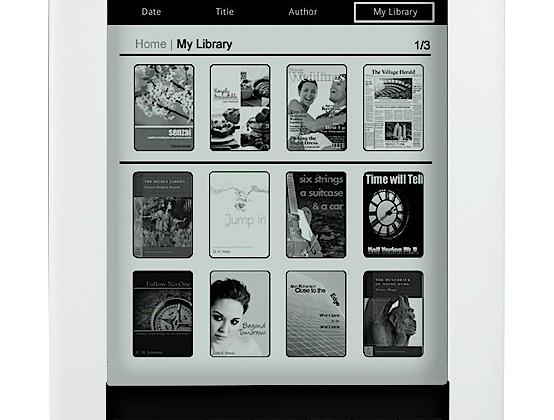 Pandigital Novel Personal eReader gets epaper touchscreen