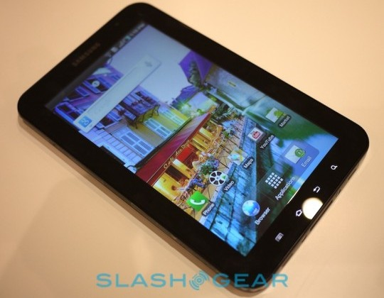 Samsung Galaxy Tab to land in UK on November 1