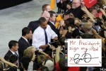 Sylvester Cann Captures President Barack Obama in an iPad