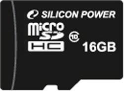 Silicon Power launches 16GB class 10 microSDHC card