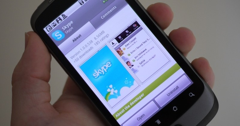 Skype for Android released: free 3G/WiFi VoIP and IM [Update: WiFi-only in US]