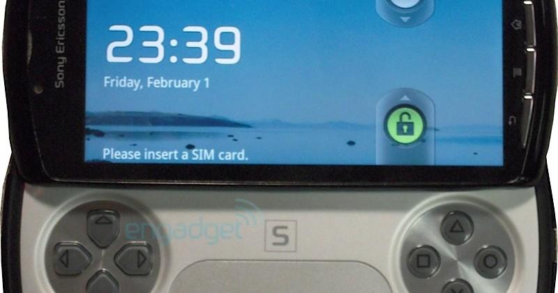 Sony Ericsson PlayStation Phone leaks