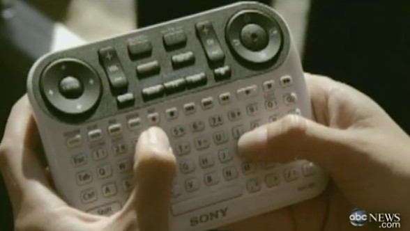 Sony's QWERTY-toting Google TV controller gets early demo