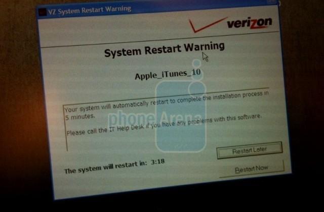 Pegatron scaling for 10m CDMA iPhone 4 in 2011; Verizon installs iTunes for iPad