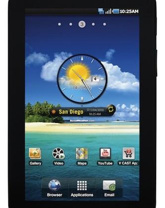 Samsung Galaxy Tab hits Verizon Nov 11 for $599.99
