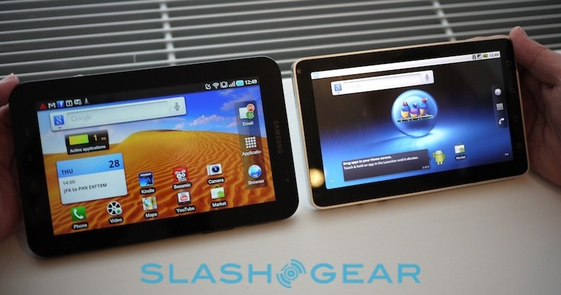 ViewPad 7 vs Galaxy Tab