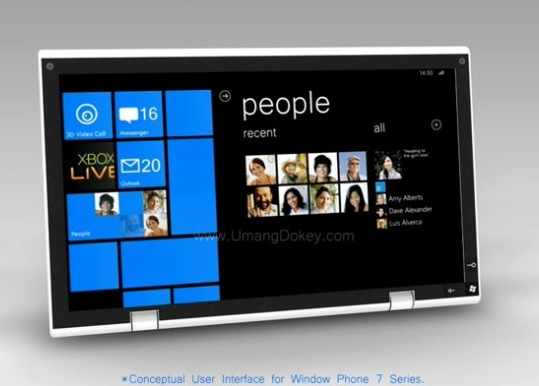Windows Phone 7 tablets unlikely as Microsoft maintain screen limits