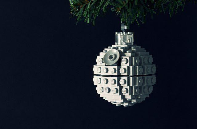 DIY Death Star Holiday Tree Ornament